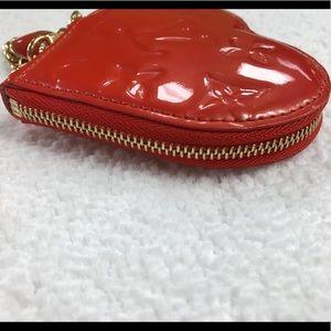 Louis Vuitton Bags - LOUIS VUITTON ORANGE HEART COIN PURSE DC TH4098
